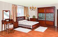 Спальня из массива дерева коллекции «Полесье-5»