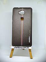 "Силиконовая накладка Remax ""Leather  stripe"" для HUAWEI GR5 (KII-L21) DualSim (51090ECE)"