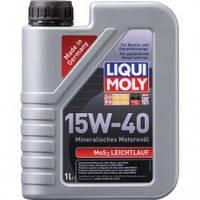 Liqui Moly MoS2 Leichtlauf Полусинтетическое Моторное Масло С Молибденом 15W-40, 1л (1932)