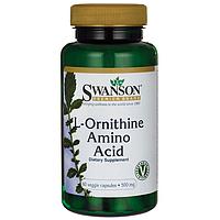 Орнитин / L-Ornithine, 500 мг 60 капсул