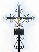 Хрест металевий 4