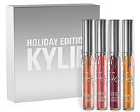 Набор помад Kylie Holiday Edition Lip Kit (4 штуки в наборе)