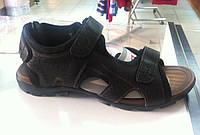 Сандали кожаные Мида Mida арт. 13233  темно-коричневые