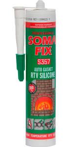 Герметик силиконовый термостойкий SOMA FIX RTV 310 мл