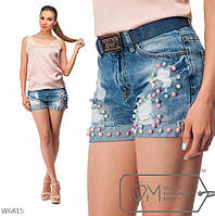 Короткие джинсовые шорты р 26,29