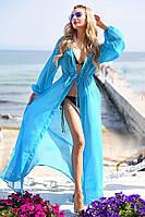 Пляжная туника однотонная 9056.5 ВМ
