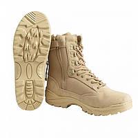 Ботинки TACTICAL BOOT ZIPPER YKK Thinsulate