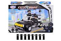 Конструктор City Swat 1223 Полицейская техника спецназа, 136 дет