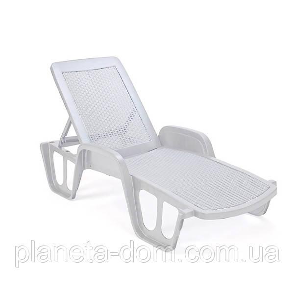 Лежак Pool, Италия -  белый