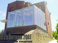 Окна, двери и фасадное остекление Алюминиевые конструкции