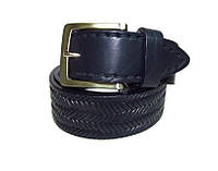 Кожаный джинсовый ремень ART:176м