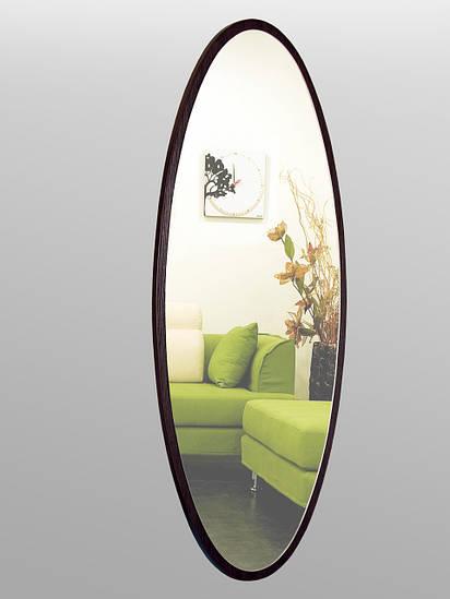 Зеркало ростовое, овальное, венге 1300х550