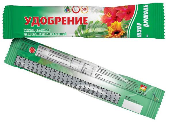 Кристалічне добриво «Чистий лист» універсальне для кімнатних рослин 100 г, фото 2