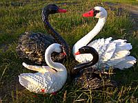 Садовые фигуры Семья лебедей