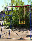 Гойдалки одномісні +сходи. Ігровий комплекс., фото 4