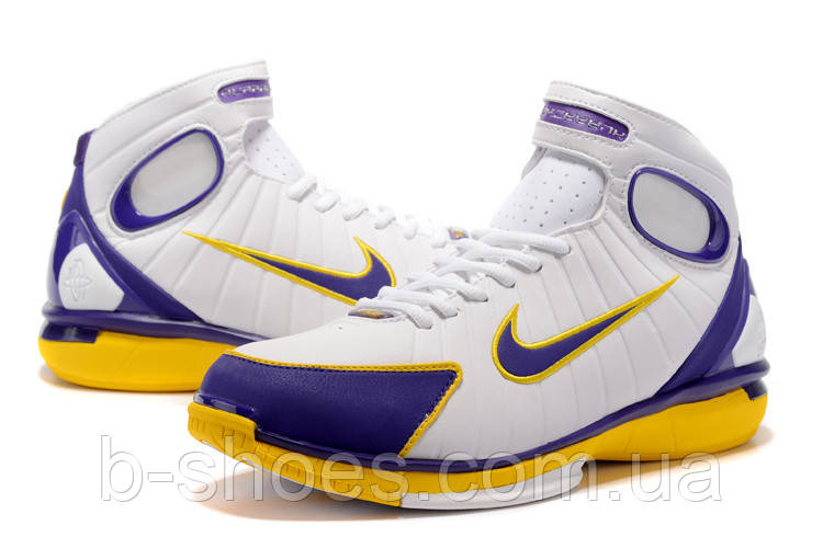 Кроссовки Nike Huarache 2k4 (Lakers)