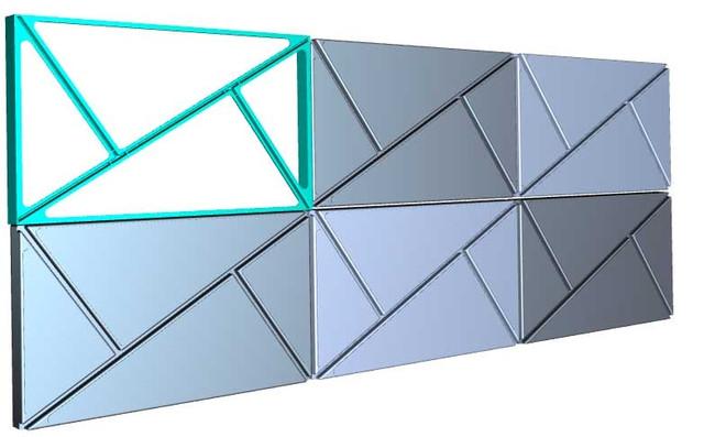 форма для садовой плитки