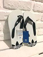 Мужские сланцы Adidas (White)