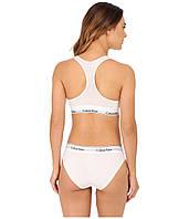 Calvin Klein комплект топ + плавки 3 цвета S M L White белые