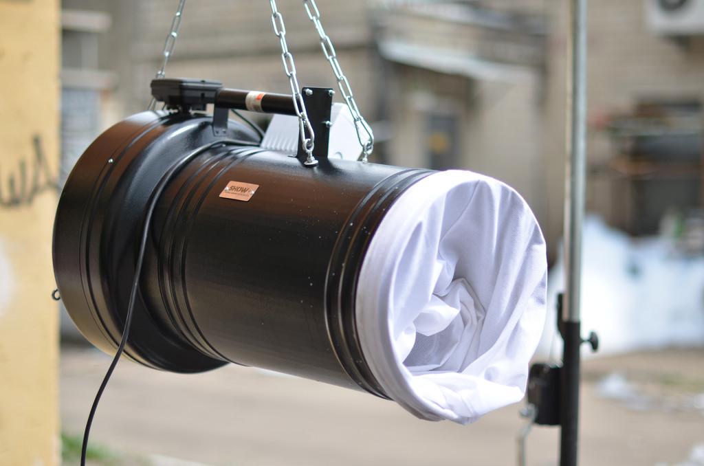 Генератор пены SHOW+ YB-0017 подключение + запуск