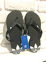 Мужские сланцы Adidas (Black)