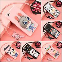 """Meizu U10 оригинальный противоударный бампер чехол  накладка 3Д игрушка детский для телефона """"DISNEY1"""""""