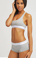 Calvin Klein комплект топ + шорты 3 цвета S M L Grey серые