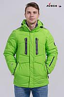 Куртка мужская Avecs AV-8055 Салатовый 55# Авекс Размеры S(46) M((48) L(50) XL(52)