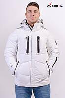 Куртка мужская Avecs AV-8055 White 5# Авекс Размеры L(50) XL(52) XXL(54)