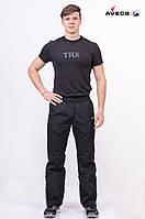 Брюки мужские флис Avecs AV-70083 Black Черный Авекс Размеры M XL 2XL