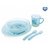 Набор посуды пластиковый Совы Canpol