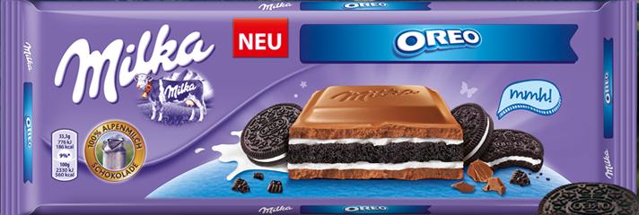 Шоколад Milka Oreo оригинал /Германия/  300гр