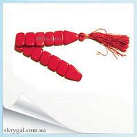 Чётки перекидные из красного Коралла