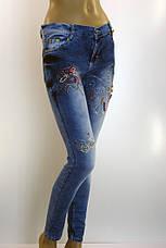 Джинсы женские c бисером Ayaa 1072, фото 2