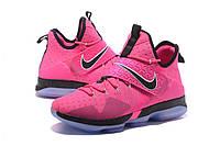 Мужские баскетбольные кроссовки Nike LeBron 14 (Pink/Black), фото 1