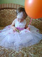 Нарядное пышное платье для девочки 86-116 р.