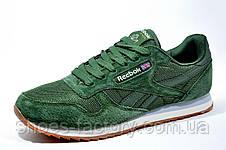 Кроссовки мужские Reebok Classic Leather Nylon Mesh, Green, фото 2