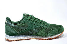 Кроссовки мужские Reebok Classic Leather Nylon Mesh, Green, фото 3