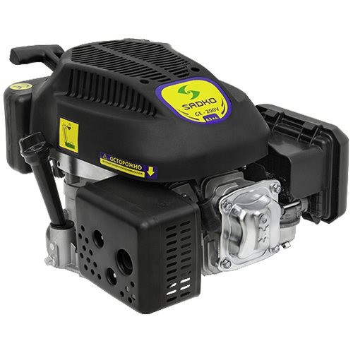 Двигатель бензиновый Sadko GE-200V (6,5 л.с.,с вертикальным валом, шпонка)
