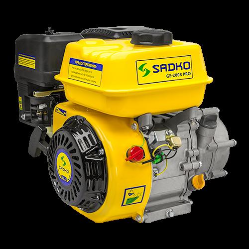 Двигатель бензиновый с редуктором Sadko GE-200 R PRO