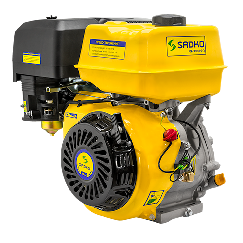 Двигатель бензиновый Sadko GE-390 PRO (13 л.с.)