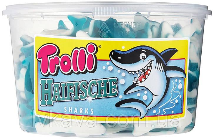 Желейные конфеты Trolli Haifische  , 1200 гр, фото 2