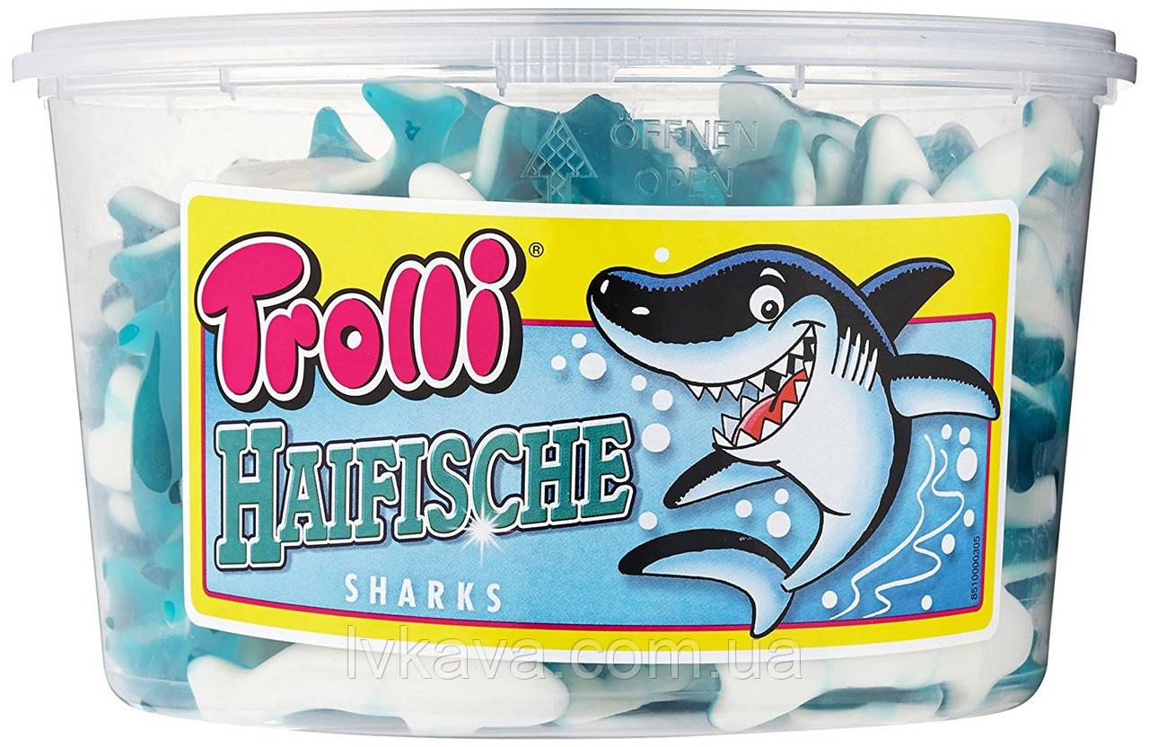 Желейные конфеты Trolli Haifische  , 1200 гр
