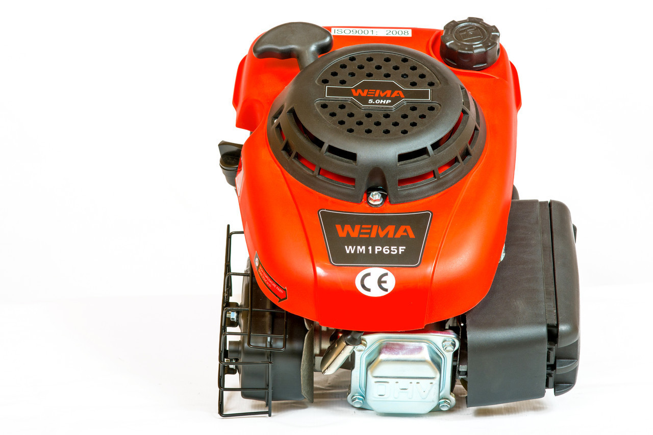 Двигатель вертикальный бензиновый WEIMA WM1P65 (5,0 л.с.)
