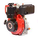 Двигун дизельний Weima WM178F (6,0 л. з, під шліц), фото 2