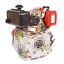 Двигун дизельний Weima WM178F (6,0 л. з, під шліц), фото 4
