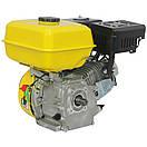 Двигатель Кентавр ДВЗ-200БШЛ (шлицы, 6,5 л.с., бензин, фильтр с масляной ванной) , фото 4