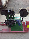 """Картофелесажалка ТМ АРА """"Зеленая"""" (цепная, 20 л.) с бункером для удобрений, фото 9"""