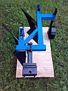 Плуг 2-х корпусний з опорним колесом ТМ ШИП для важких мотоблоків, фото 2