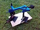 Плуг 2-х корпусний з опорним колесом ТМ ШИП для важких мотоблоків, фото 3